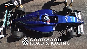 Billy Monger sets his Supercar Shootout time at Goodwood FOS