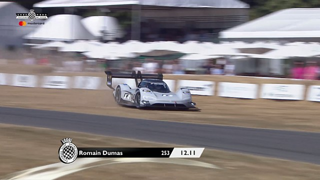 El incidente de Romain Dumas en Goodwood FOS