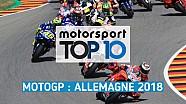 Top 10 - Grand Prix d'Allemagne